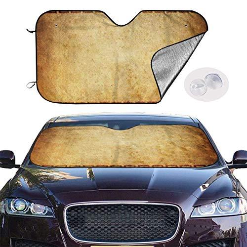Preisvergleich Produktbild VTIUA Sonnenschutz Auto, Sonnenblende Banner Background Portable Universal Sunshade Keeps Vehicle Cooler for Car, SUV, Trucks, Minivan Automotive and Most Vehicle Sunshade (51 X 27 in)