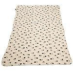 Extra Large Soft Cosy Warm Fleece Pet Dog Cat Animal Blanket Throw 140 x 100cm - Black 6