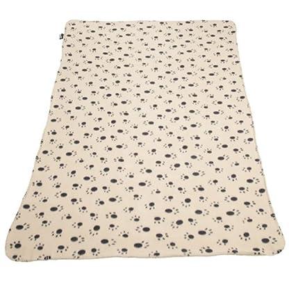 Extra Large Soft Cosy Warm Fleece Pet Dog Cat Animal Blanket Throw 140 x 100cm - Black 3