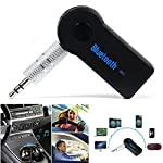 Portable 3.5mm Streaming Car A2DP Wireless Bluetooth AUX Audio Music Receiver Adapter with Microphone This music receiver (hands-free) is designed to receive music from mobile phones or transmitters that feature Bluetooth wireless technology. This mu...