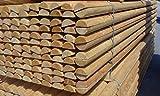 Halbrundriegel Ø8 cm x 2,50 m Länge, VE 112 Stk. (Stückpreis 4,65€ versandkostenfrei, franko BRD) Riegel, Zaunriegel, Querriegel, Stekete, Zaunlatte, Halbpalisade