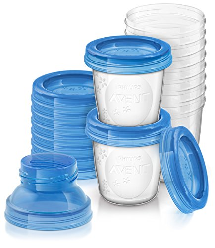 Philips SCF618/10 Avent Reusable Breast Milk Storage Cups – Pack of 10 51 2BWXCSyEFL