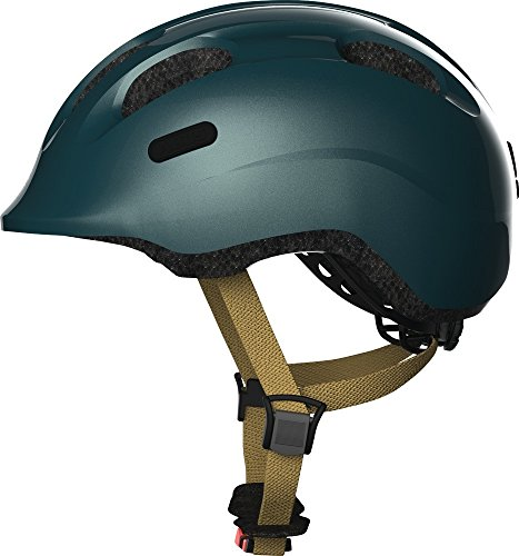 Abus Smiley 2.0 Fahrradhelm, royal Green, M