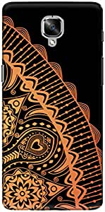 The Racoon Lean printed designer hard back mobile phone case cover for Oneplus 3T. (Sunshine O)
