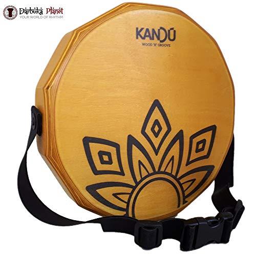 KTÄK - El primer cajón de percusión de tambor de mano, hecho a mano, de dos canastas