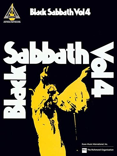 Black Sabbath, Volume 4 (Guitar Recorded Version)