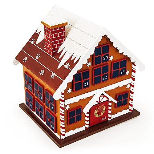 """Adventskalender """"Lebkuchen Haus"""" zum Befüllen"""