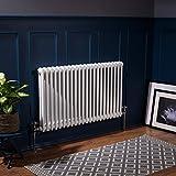 Radiateur eau chaude 1115W - 600 x 1010 - Simple - Blanc - Chauffage central