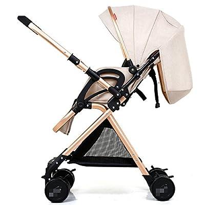 CDREAM Cochecito De Bebé Puede Sentarse Reclinable Plegado Ligero Amortiguador Baby Hand Push Umbrella 0-3 Años De Edad