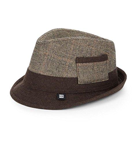 Block mit Kopfbedeckungen Plaid Bicolour Hat Block Headwear