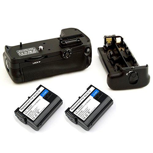 Neewer Batteriegriff Ersatz-Akku Grip für Nikon D11 2-teilig Ersatz für EN-EL15 Li-Ion Akku mit Akku Halterung Grip AA Akku Holder Grip für Nikon D7000 DSLR