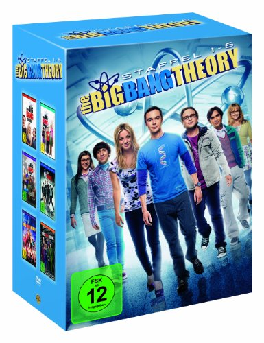The Big Bang Theory - Staffel 1-6 (19 Discs) (exklusiv bei - Big-bang-dvd-staffel 1
