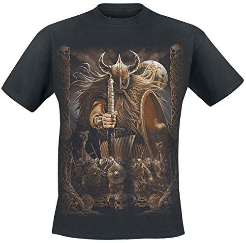 Spiral Celtic Pirates T-Shirt nero XXL