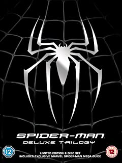 Spider-Man Trilogy Deluxe Box Set [DVD] by Spider-Man (B000TYV3BM) | Amazon price tracker / tracking, Amazon price history charts, Amazon price watches, Amazon price drop alerts