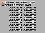 Ecoshirt OQ-66Y9-8O2I Pegatinas Abarth F197 Stickers
