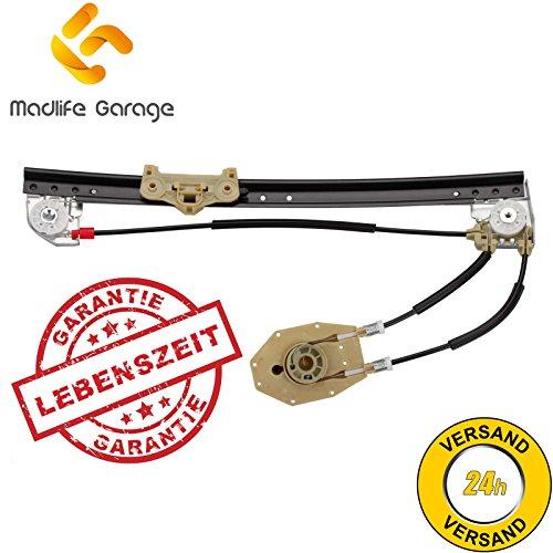 Madlife Garage 51358159836 Elektrisch Fensterheber ohne Motor Hinten Rechts 4/5 Türig