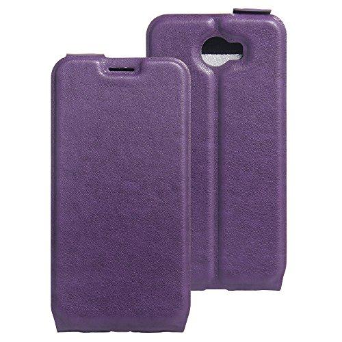 COVO® PU+TPU Kunstleder Brieftasche Hülle für Archos 50 Cobalt mit Stand Funktion (Grün)