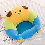 WeieW Kinder frühe Entwicklung Spielzeug Kinder Plüsch Baby Sicherheits Sofa Stuhl Baby Studie Stuhl (Hund)