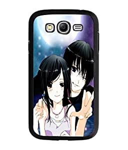 Fuson Love Couple Back Case Cover for SAMSUNG GALAXY GRAND NEO - D3638