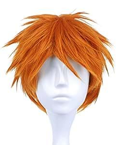 CoolChange Parrucca di Ichigo Kurosaki di Bleach, arancione