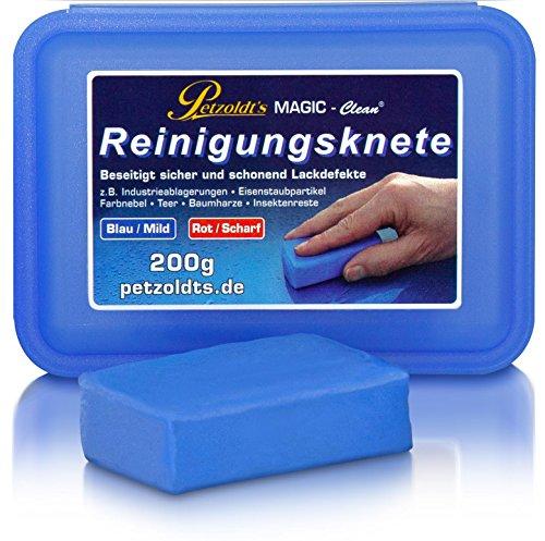Petzoldt's Profi-Reinigungsknete MAGIC-Clean, Blau, 200 Gramm