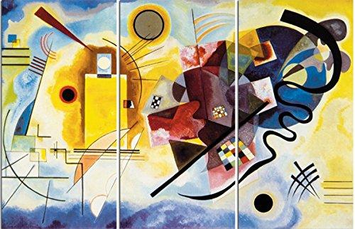 Vassili Kandinsky - Amarillo Rojo Azul