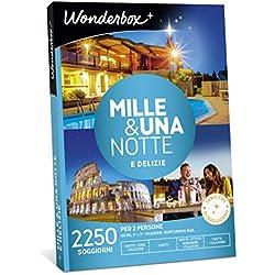 Wonderbox Cofanetto Regalo per San Valentino - Mille & Una Notte E DELIZIE - 2250 SOGGIORNI per 2 Persone