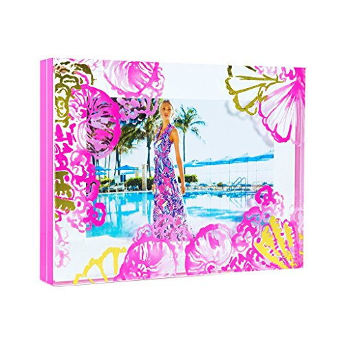 Lilly Pulitzer-muster (Lilly Pulitzer Bilderrahmen Coco Coral Crab 13 x 18 cm)