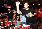 100x Beer Pong Becher Partybecher Set Plastikbecher Rot und Blau 473ml Bier Pong Cups mit Bällen, 16oZ für Getränke Party Camping Cocktail Bier Neues Jahr Weihnachten Geburtstag Festivals Hochzeit - 3