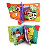 #6: Forberesten Fabric Cloth Soft Baby's First Book, Animals