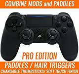 PRO EDITION PS4 PRO Rapid Fire Custom Modded Controller 40 Mods Remapping Paddles for All Major Shooter Games, Fortnite & More, custom LED (CUH-ZCT2U)