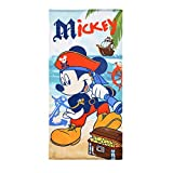 Disney Micky Maus/Mickey Mouse Strandtuch/Badetuch in Mikrofaser 70x 140cm