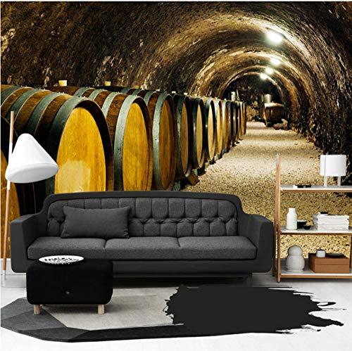 Wand Tapeten 3D Spatial Extension Persönlichkeit Wandbild Tapete Hd Raum-Zeit Tunnel Moderne Kreativität Cafe Bar Ktv Decor 3D Fototapeten