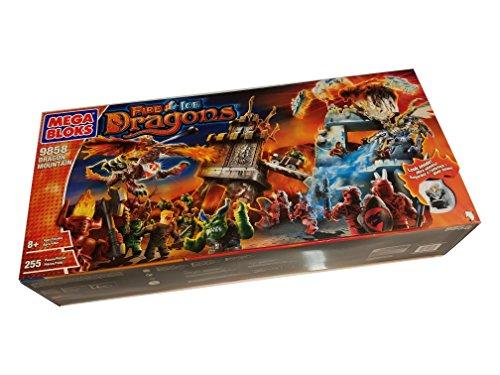 Desconocido Mega Bloks 9858 - Dragon Mountain