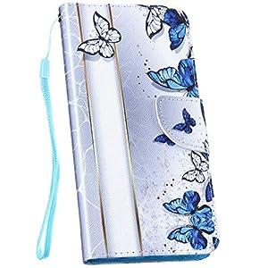 Ysimee Hülle kompatibel mit Samsung Galaxy Note 8, Bookstyle Leder Tasche Handyhülle Flip klapphülle Standfunktion Card Holder Schutzhülle Tasche Schlanke Leder Brieftasche + 1 X Stylus Pen,