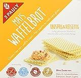 3 PAULY Mais Waffelbrot - glutenfrei, 6er Pack (6 x 100 g)