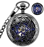 Best Watches - BHGWR Mens Pocket Watch with Chain, Retro Men Review