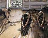 1art1 99562 Gustave Caillebotte - Die Parkettschleifer, 1875 Poster Kunstdruck 50 x 40 cm