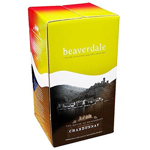 beaverdale Chardonnay 30bottiglia di vino home Brew Kit