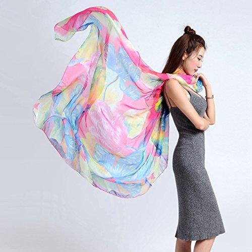 TOPSTORE01 Pareo Strandkleider Belle Fleur Großes Tuch Bikini Wickelkleid Farbe2