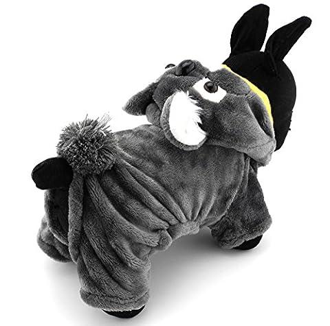 Pegasus Pet Kleidung für Welpen Katze Kleine Hunde Fleece Koala Kostüm Party Halloween Fancy Kleid (Kleiner Hund Kostüme)