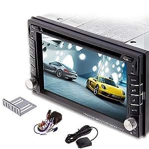 autoradio auto dvd player mit gps navi navigation amazon. Black Bedroom Furniture Sets. Home Design Ideas