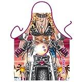 Grillschürze Kochschürze Schürze - Sexy Biker
