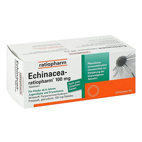 ECHINACEA-ratiopharm 100m 50 stk