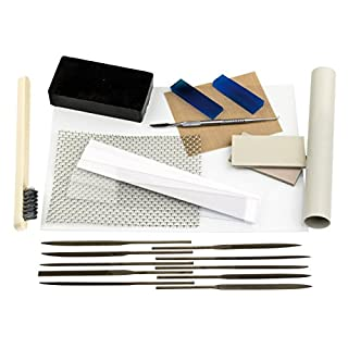 Cooksongold Jeweller's 23 Pc. Precious Metal Clay Premium Tool Kit for PMC and Art Clay Silver
