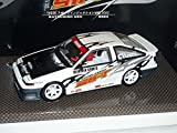 Toyota-Trueno-Sprinter-Ae86-Weiss-Rennversion-1983-124-Hot-Works-Racing-Modellauto-Modell-Auto-SondeRangebot