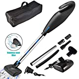 LTPAG Handheld Vacuum, 120W 6000PA Rechargeable Car Vacuums Wet & Dry Cleaning - With Low Noise Strong Suction Handheld Cordless Vacuum, Handheld Cordless Vacuum Cleaner for Home/Car Cleaning