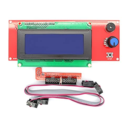 Anycubic 2004 LCD Graphic Smart Display Controller Module for RAMPS 1.4 RepRap 3D Printer Mendel Prusa Arduino