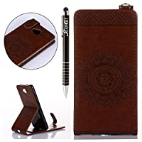 Microsoft Lumia 650 Case Cover Wallet,Anti-scratch Cuir Dragonne Portefeuille Relief fille papillon Housse pour Nokia Lumia 650,SainCat Coque de Protection PU Leather Flip Wallet Case Cover Bumper Bling Diamond Glitter Wallet Flip Protective Cover Protector,Coque de Protection en Cuir Folio Housse C