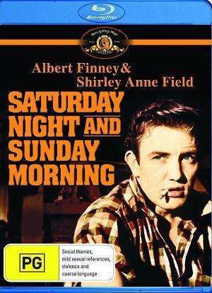 Saturday Night and Sunday Morning  [ Blu-Ray, Reg.A/B/C Import - Australia ]